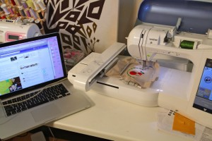 How does an Embroidery Machine work?