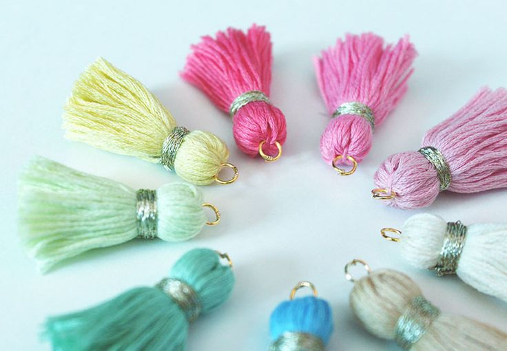 How To Make An Embroidery Thread Tassel