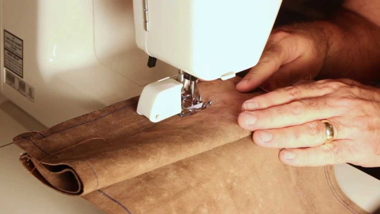 How to Sew a Leather on a Home Sewing Machine