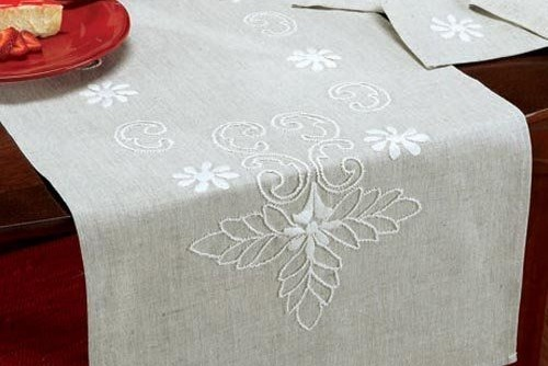 Types of Embroidery - Candlewick embroidery