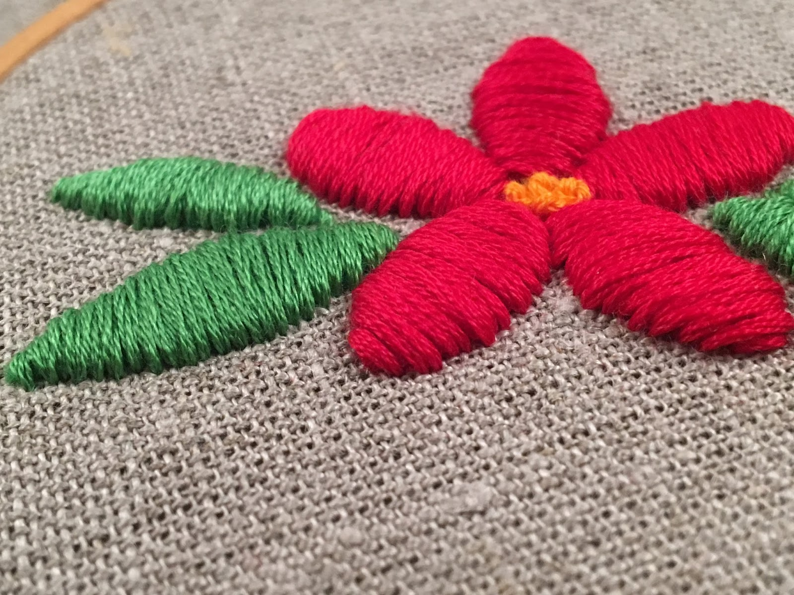 Basic Embroidery Stitches - Satin Stitch