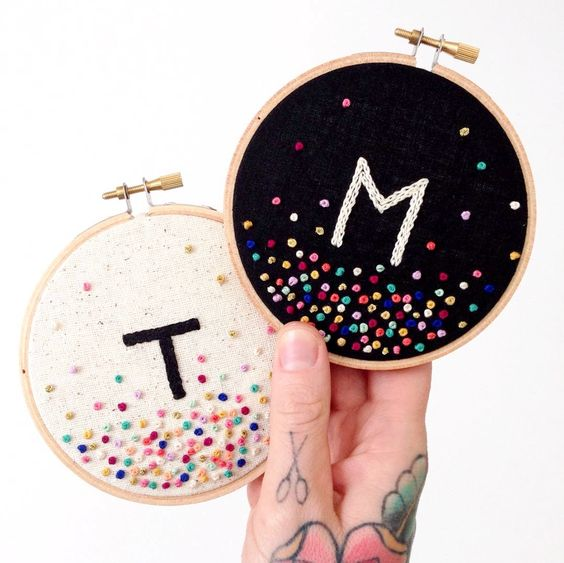 What Embroidery Stitches To Use For Letters