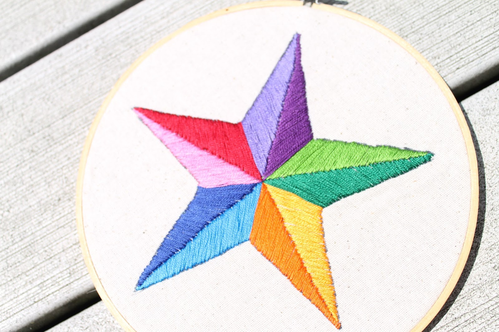 How to Embroider by Hand - Satin stitch