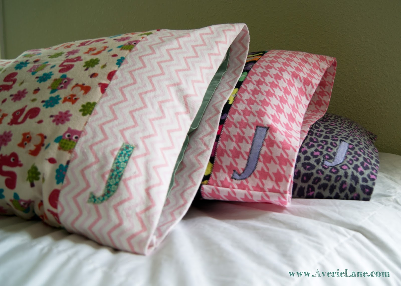 Sewing projects for kids #17 - Pillowcases