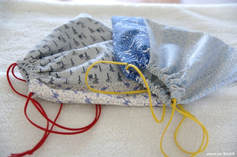 Sewing projects for kids #12 - Drawstring bags