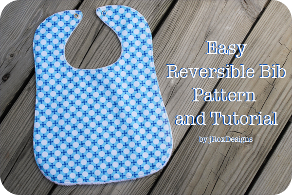 Sewing projects for kids #19 - Bibs for infants and toddlers