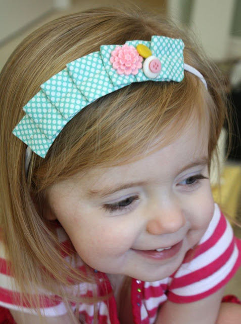 Sewing projects for kids #4 - Headbands