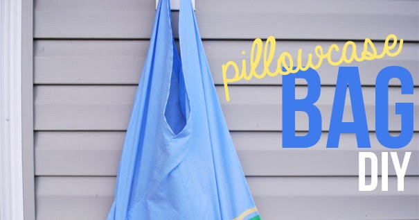 Sewing projects for kids #21 - Pillowcase bags