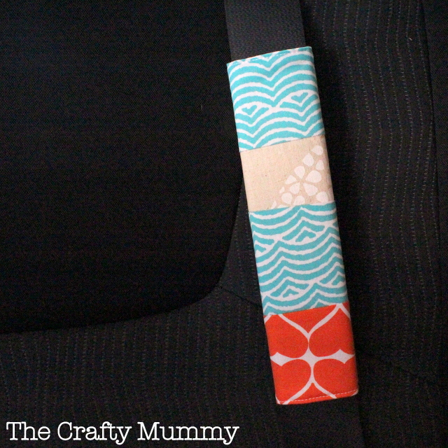Sewing projects for kids #16 - Seat belt covers
