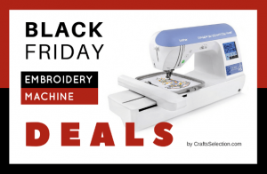 Best Black Friday Embroidery Machine Deals 2018