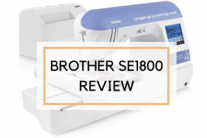 Brother SE1800 – Best Selling Embroidery Sewing Machine for Home Business