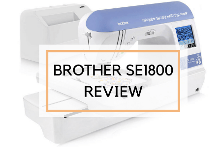 Brother SE1800 - Best Selling Embroidery Sewing Machine for Home Business