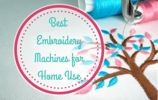 BEST EMBROIDERY MACHINES cover image