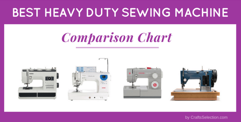 Best Heavy Duty Sewing Machine Comparison 2019