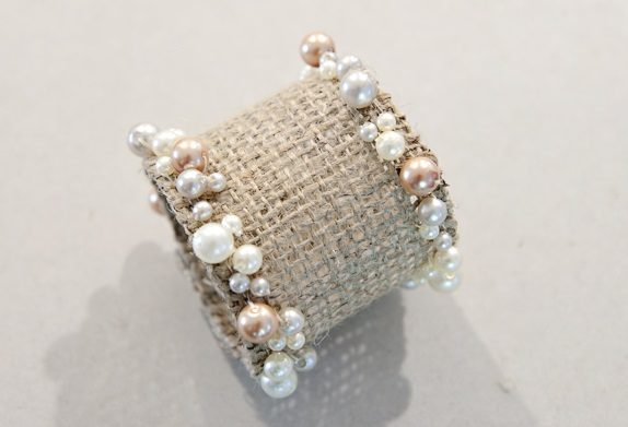 Burlap Decorating Ideas #7: Burlap Napkin Ring