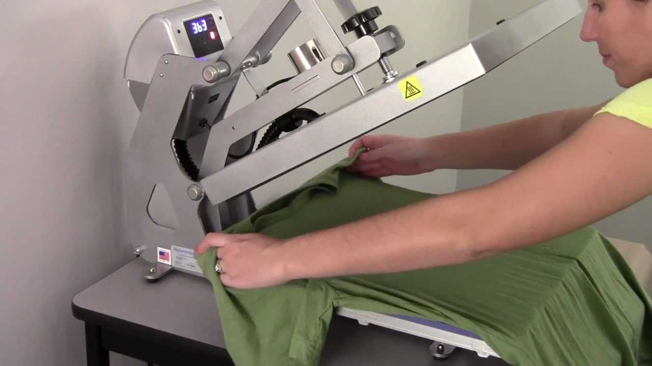 Heat Printing For T-shirt