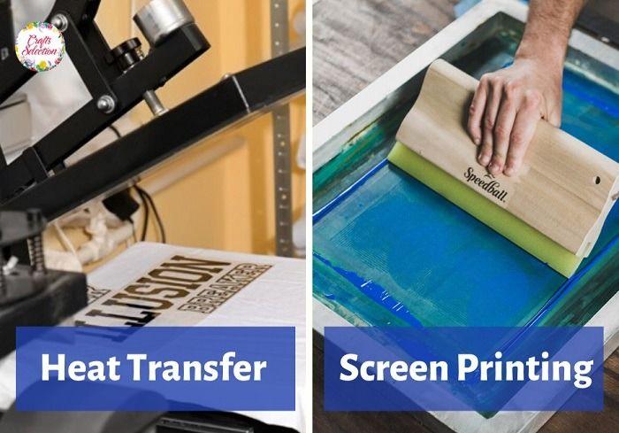 Heat Transfer vs. Screen Printing