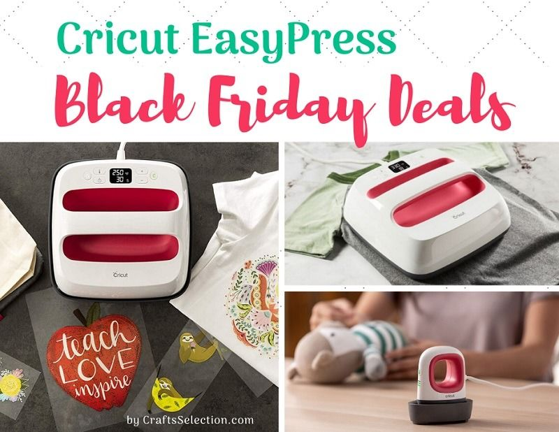 Cricut Easy Press Black Friday and Cyber Monday Deals