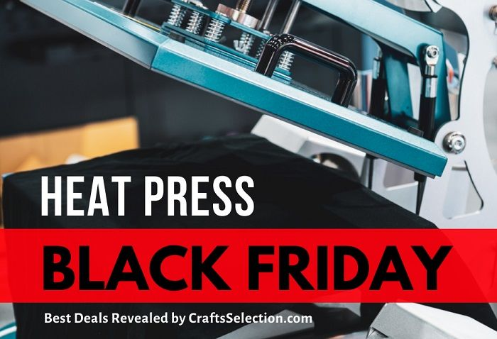 Best Heat Press Black Friday Cyber Monday Deals