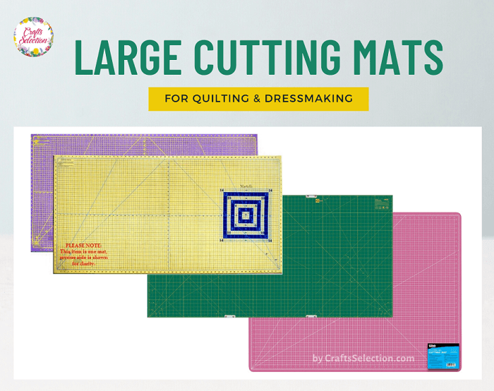 Large Cutting Mats For Quilting and Sewing: Top 8 Reviewed