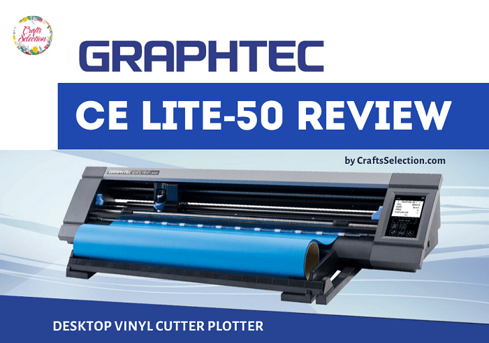 Graphtec CE-50 LITE Vinyl Cutter Plotter Review