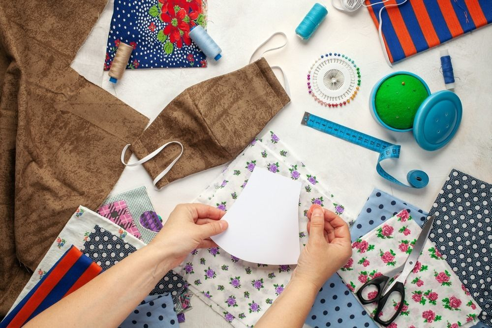 Make a Mask Without a Sewing Machine at Home