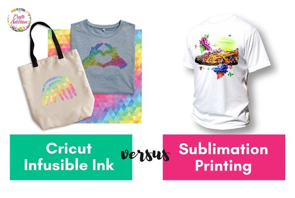 Cricut Infusible Ink Vs. Sublimation: What Are The Differences?