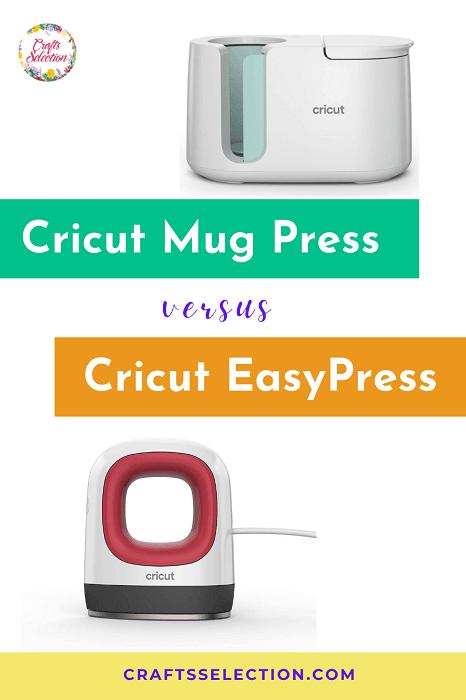Cricut Mug Press versus Easy Press