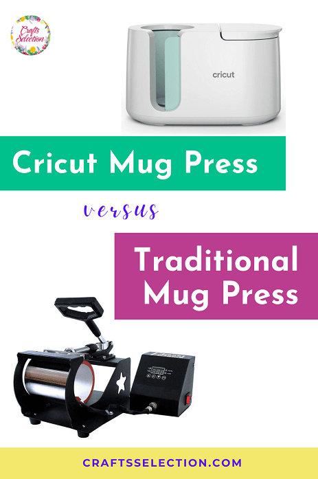 Cricut Mug Press versus Traditional Mug Press